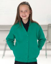 273B Jerzees Schoolgear Children's Sweatshirt Cardigan